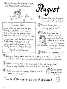 august journal prompts - Google Search