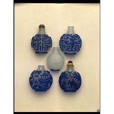 Snuff Bottles, China - V