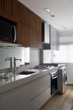 12 cozinhas pequenas com projetos inteligentes