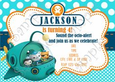 Octonauts Birthday Party Octonauts party Birthdays and Birthday