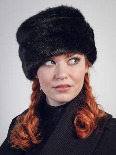 3ac9505b8ab Cossak Black Faux Fur Hat   Hats   Deanna DiBene Millinery Redheads