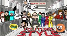 Youtube este Gangman Style - Year review