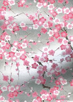 Crafty Paper - Deluxe Floral Design 06 - Japanese Yuzen Chiyogami Paper, $3.50 (http://www.craftypaper.com.au/deluxe-floral-design-06-japanese-chiyogami-paper/)