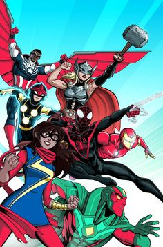 All-New, All-Different Avengers 1