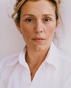 Frances McDormand Not the beauty makes her irresistable. Her charm and awesome talent . I love her !