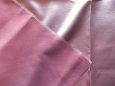 Vintage 1930's 40's Pink Shot Slub Silk Dupioni Cotton Dress & Interiors Fabric in Collectables, Sewing/ Fabric/ Textiles, Fabric/ Textiles   eBay