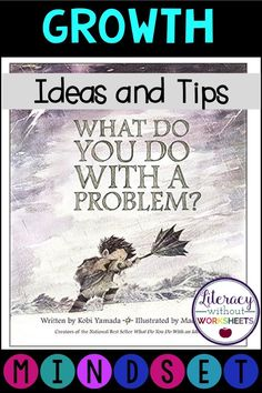 Anchor charts, freebies, and teaching ideas on how to incorporate a growth mindset into your classroom.