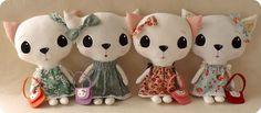 Gingermelon Dolls: Cloth Kitten Pattern Giveaway!!