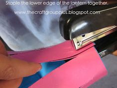 """""""The Craft Group"""" plus.: Lantern making. a craft for kids"""