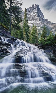 Glacier National Park, Montana .