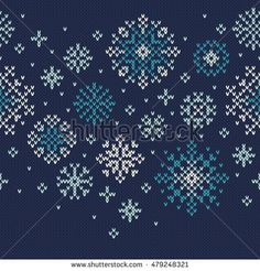 Winter Holiday Knitted Pattern with Snowflakes. Jumper Knitting Pattern, Jumper Patterns, Knitting Patterns, Winter Holidays, Repeat, Charts, Snowflakes, Scandinavian, Stitching