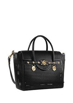 23f92d3de77 Versace - Lasercut Signature bag Versace Purses, Versace Bag, Versace  Handbags, Versace Fashion