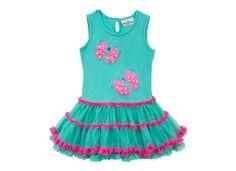 Rare Editions Little Girls' Butterfly Tutu Dress - Kids Toddler Girls (2T-5T) - Macy's