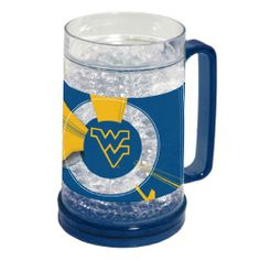 West Virginia Mountaineers Freezer Mugs