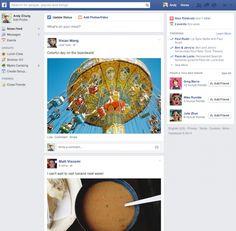Facebook Haber Akışı Sayfasının Tasarımını Değiştiriyor