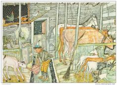 Schellenursli by Alois Carigiet Book Illustration, Boy Room, Children's Books, Zine, Watercolour, Art For Kids, Rooms, Paintings, Places