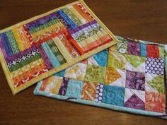 mug rug pattern - Pesquisa Google