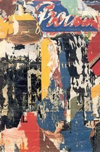 """Jacques Villegle  """"Rue de Seine"""" 1964"""
