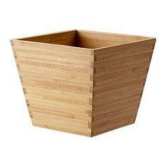 VILDAPEL, Plant pot, bamboo