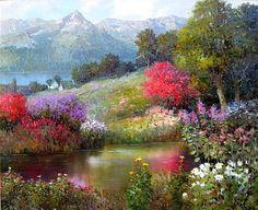 Garden Watercolor