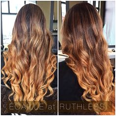 Écaille at RUTHLESS.  #color #balayage #hairmodel #hairstyles #ruthless