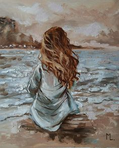 Art Paintings For Sale, Beautiful Paintings, Wall Paintings, Watercolor Paintings, Oil Painting On Canvas, Painting & Drawing, Sexy Painting, Oil Painting Pictures, Back Painting
