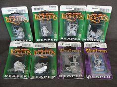 8 Sealed Reaper Miniatures Dark Heaven Legends  #ReaperMiniatures