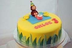 Curious George cake By sasquatch on CakeCentral.com