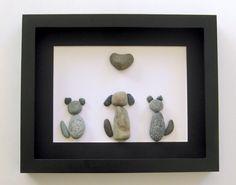 Amoureux des animaux personnalisés cadeaux Art par SticksnStone