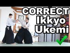 Aikido How To: Do Good Ikkyo Ukemi - YouTube