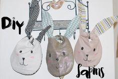 DIY petits sacs lapins pour Pâques - Milk and FabricMilk and Fabric
