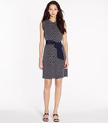 BRONWYN DRESS by Tory Burch - Dressy enough for work, cute enough for a dinner date ;)