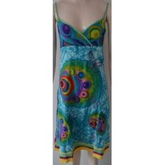 Desigual dámské šaty modré 36