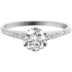 Bespoke White Gold Engagement Ring