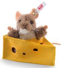 Steiff Pixi Mouse Edición Limitada De Alpaca Coleccionable En Caja De Regalo-Ean 021497