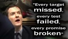 Conservative Government misses borrowing target