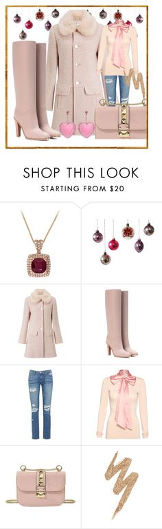 """Winter wish list"" by ellenfischerbeauty ❤ liked on Polyvore featuring Miss Selfridge, Valentino, Paige Denim, Alice + Olivia, Urban Decay and Tarina Tarantino"