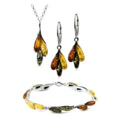 Sterling Silver Multicolor Amber Dreams Necklace Earrings Bracelet Set 18 Inches GRACIANA, http://www.amazon.com/dp/B007JNWR8O/ref=cm_sw_r_pi_dp_wR7rrb0VDEP2P