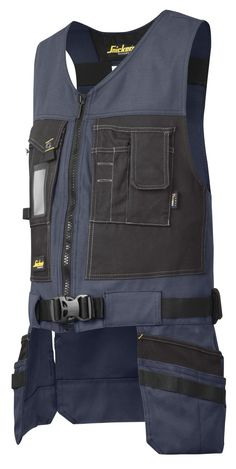 This hard-wearing Toolvest gives you easy access to your essential tools at all times. Count on ergonomic tool carrying and all the pockets you need combined with outstanding working comfort. Work Jeans, Work Trousers, Hard Wear, How To Wear, Work Belt, Work Aprons, Tactical Clothing, Dress For Success, Leather Accessories