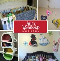 Whimsical and wondrous are wonderful adjectives to start life under, even if your babys name isnt Alice. - + 19 other awesome pop culture inspired nurseries (nightmare before christmas, twilight, hunger games, harry potter, doctor who, star wars, lost, etc)
