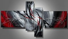 Grey White Lines, Hand Painted Museum Quality Artwork
