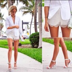 On Trend White Heels  From $35