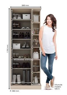 Zapatero Botinero Perfumero Organizador Con Espejo - $ 6.090,00 en Mercado Libre Wardrobe Closet, Walk In Closet, Shoe Closet, Shoe Organizer Entryway, Entryway Organization, Spinning Shoe Rack, African Print Wedding Dress, Washbasin Design, Dressing Table Design