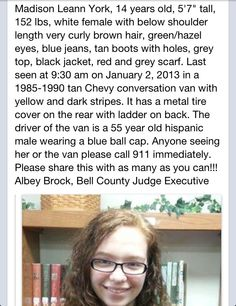 Please Help! Missing Child, Missing Persons, Missing And Exploited Children, Bring Them Home, Grey Scarf, How Many People, 14 Year Old, Hazel Eyes, Together We Can