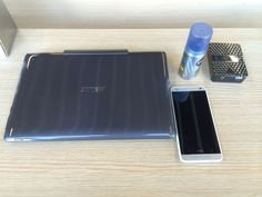 ASUS T100 Transformer, ADATA AE400 power pack/card reader/hotspot, HTC One, Nivea Silver Protect deodorant (it was a 3AM start) at Schiphol airport, Amsterdam