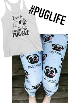 AHHHH look at this PUG outfit! This is so adorable! www.babalusbylucy.com