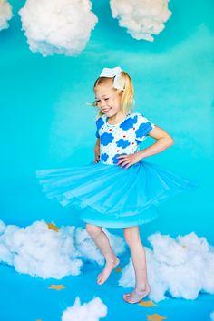 Raincloud Dress – Taylor Joelle Bodice, Kids Fashion, Childhood, Tulle, Knitting, Bears, Skirt, Inspired, Dresses