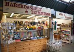 haberdashery. Just recently saw a shop calling itself a Haberdashery --- a word I've not seen for years.