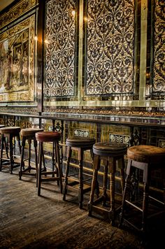 The Ten Bells Pub, London, England, where Jack the Ripper's victims went for a drink. by Heather Applegate