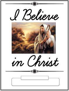 I Believe In Christ Copywork Notebook | Scribd